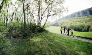 Nordic Walking in der Natur
